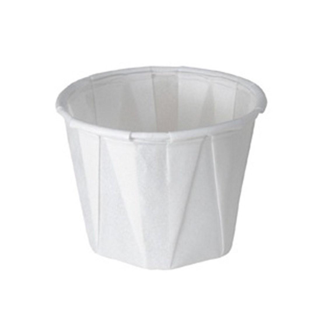 Productafbeelding Wegwerp waxed paper tipje 28 ml 250st