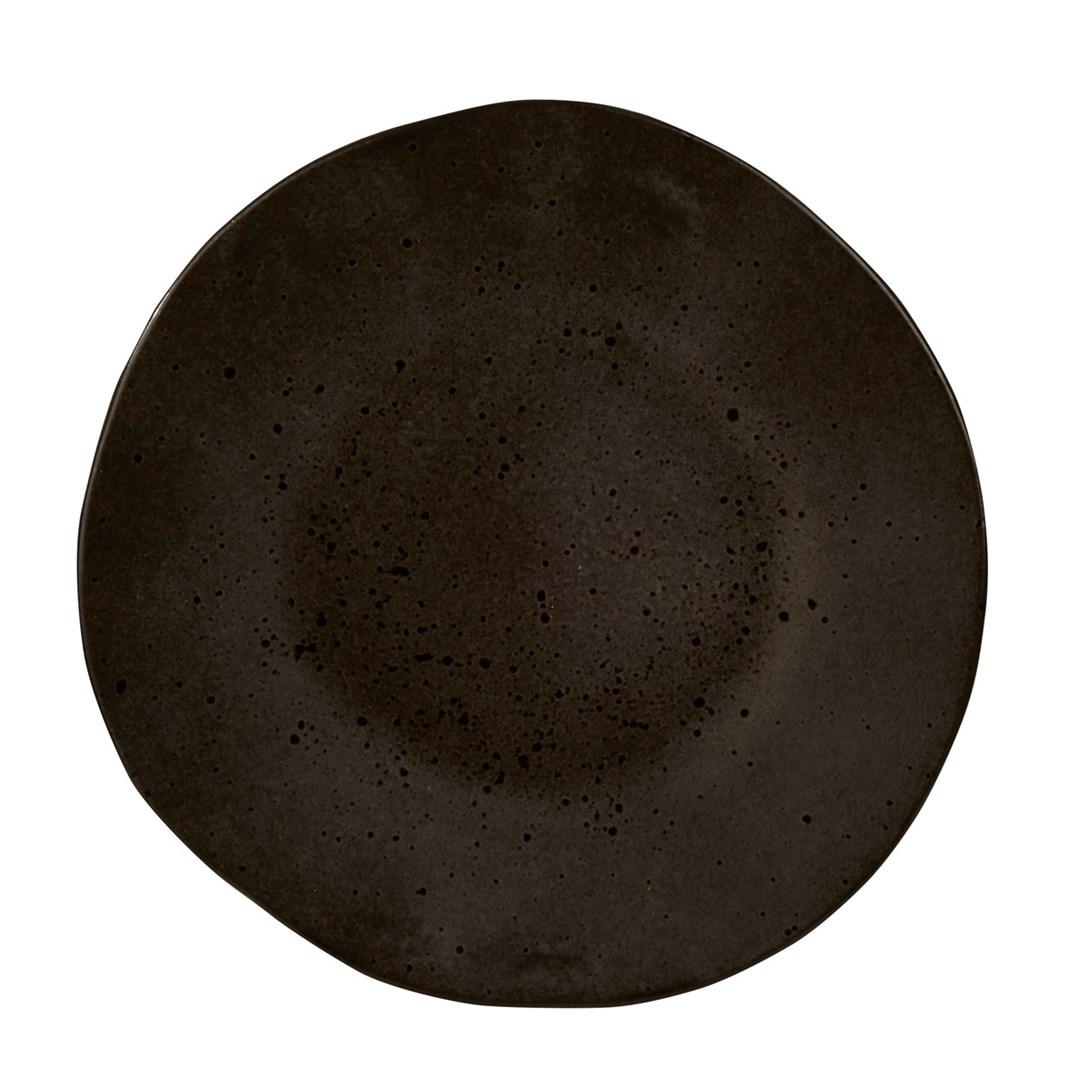Productafbeelding Q Authentic Stone Black bord 28,5 cm