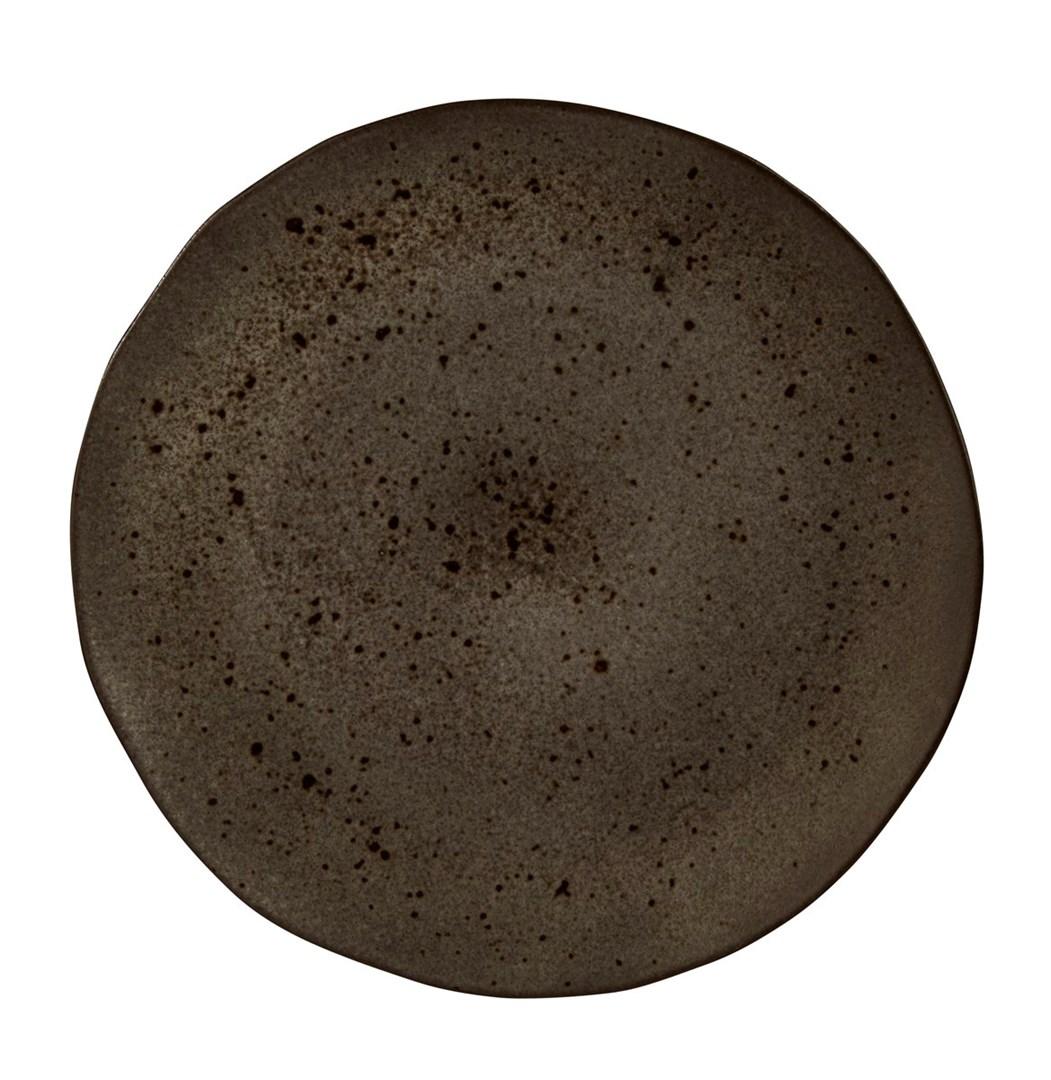 Productafbeelding Q Authentic Stone Black bord 31,5 cm