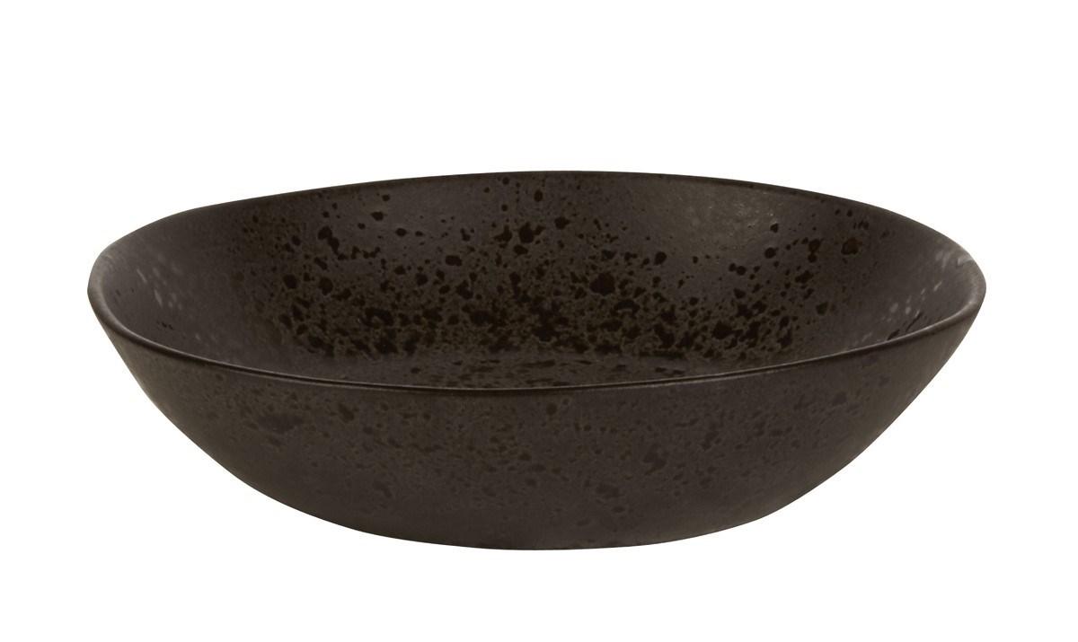Productafbeelding Q Authentic Stone Black diep bord 22 cm