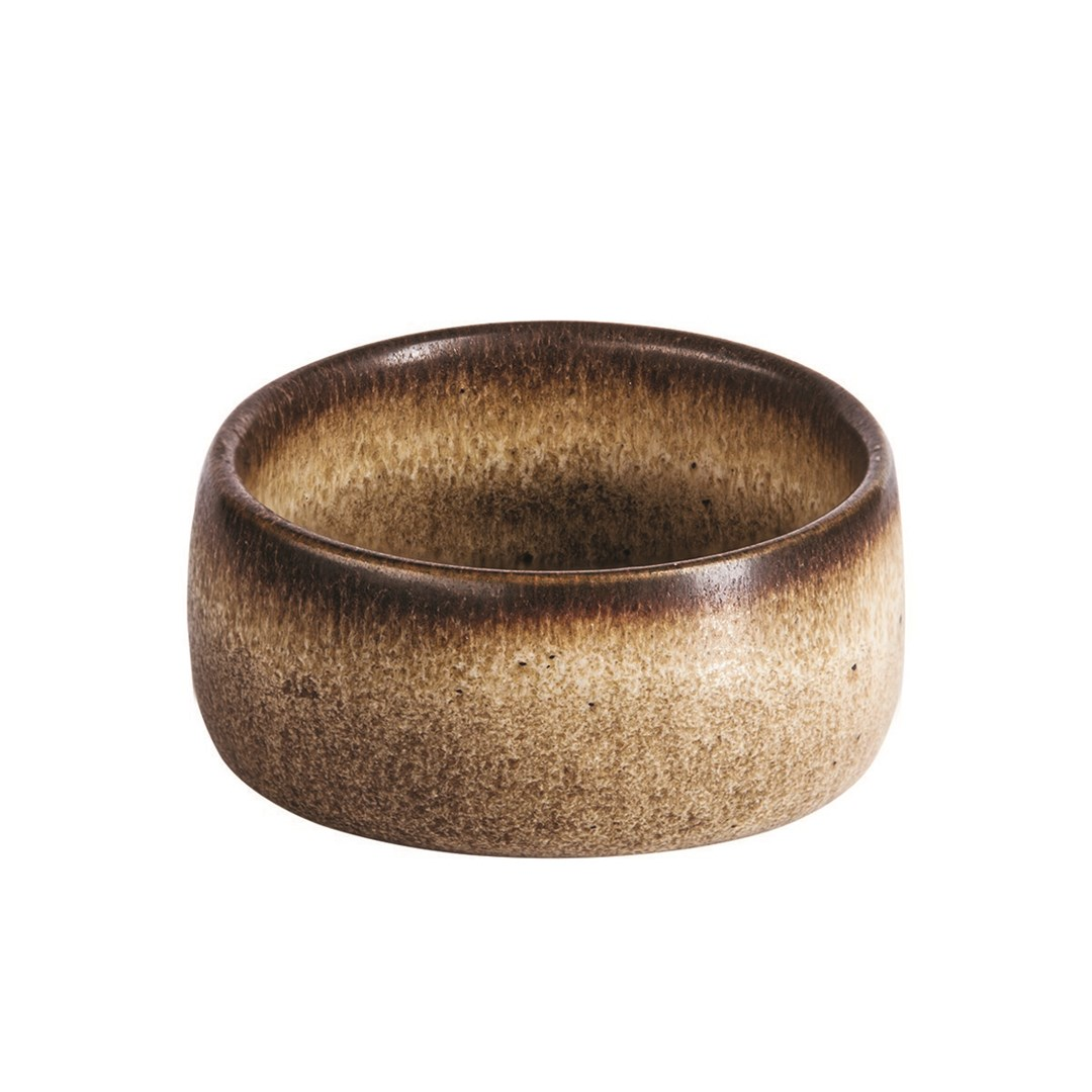 Productafbeelding Q Authentic Stone Brown ramekin 4,5 cm