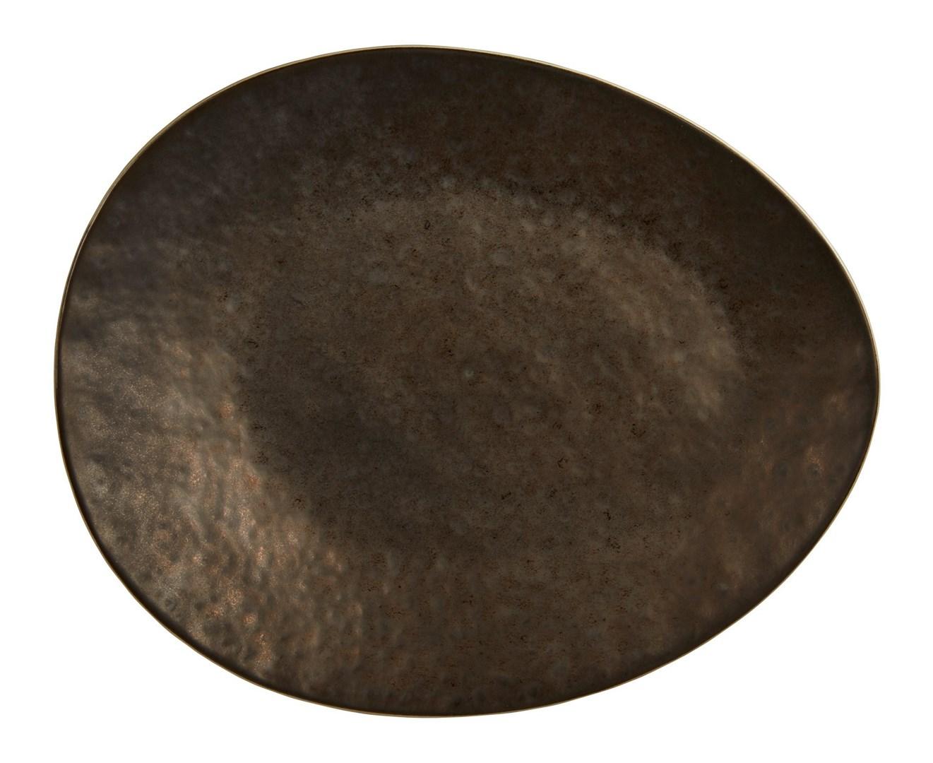 Productafbeelding Rustico Aztec ovaal bord 27 cm
