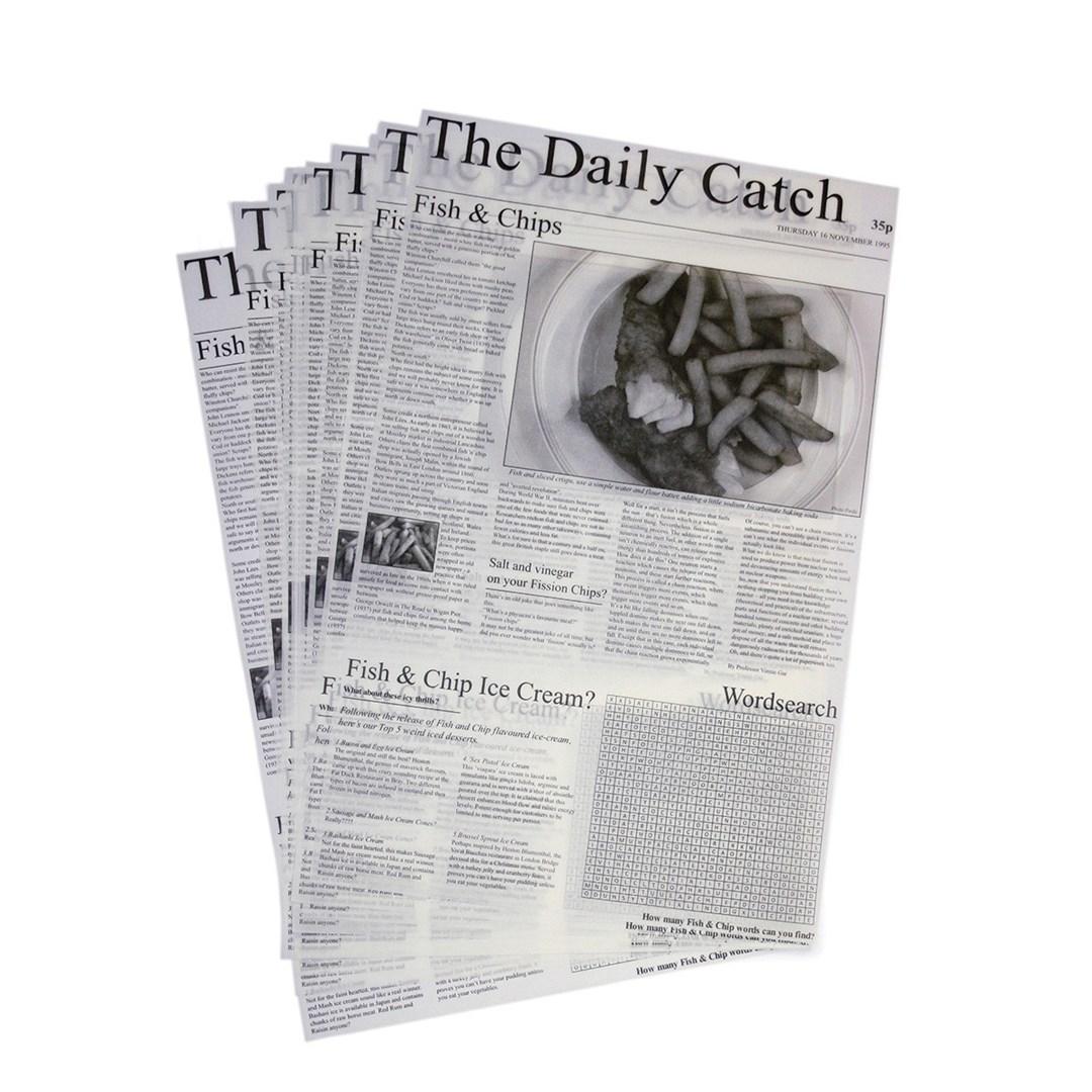 Productafbeelding LUX310 Vetvrij papier 'Daily Catch' 27x42 cm 500st