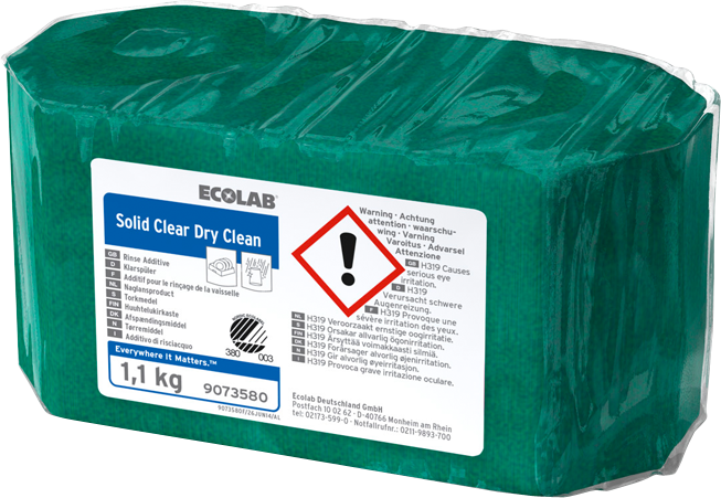 Productafbeelding SOLID CLEAR DRY CLEAN 2X1.11KG