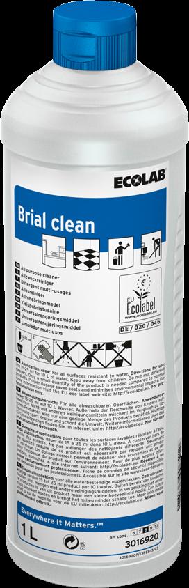 Productafbeelding BRIAL CLEAN 12X1L CS