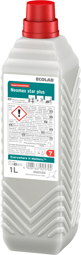 Productafbeelding NEOMAX STAR PLUS 6X1L