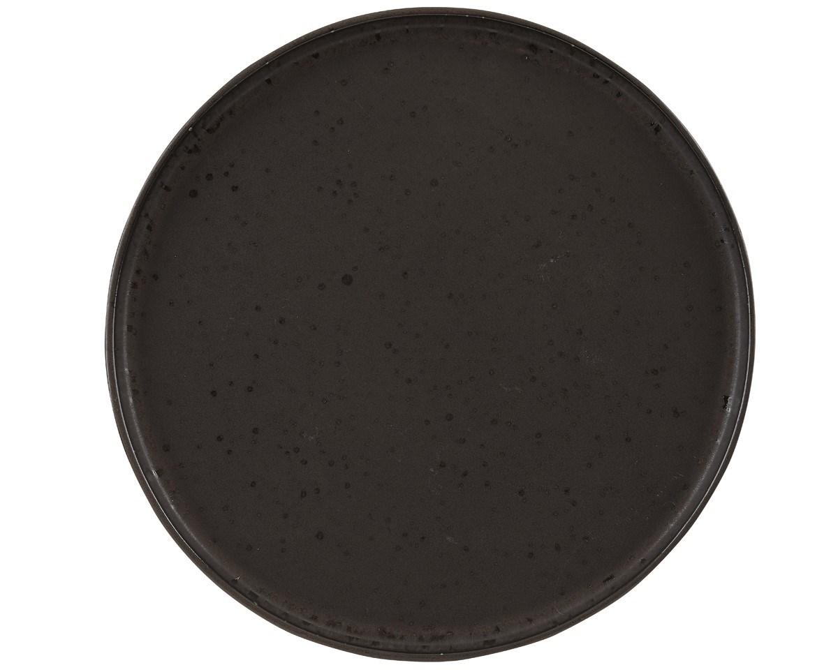 Productafbeelding Rustico Flint bord met opstaande rand 26,5 cm