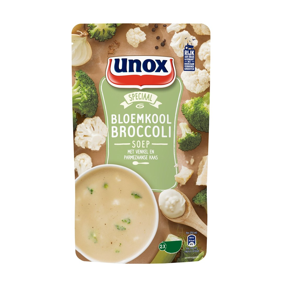 Productafbeelding Unox SIZ Bloemkool-broccoli 570ml 5x