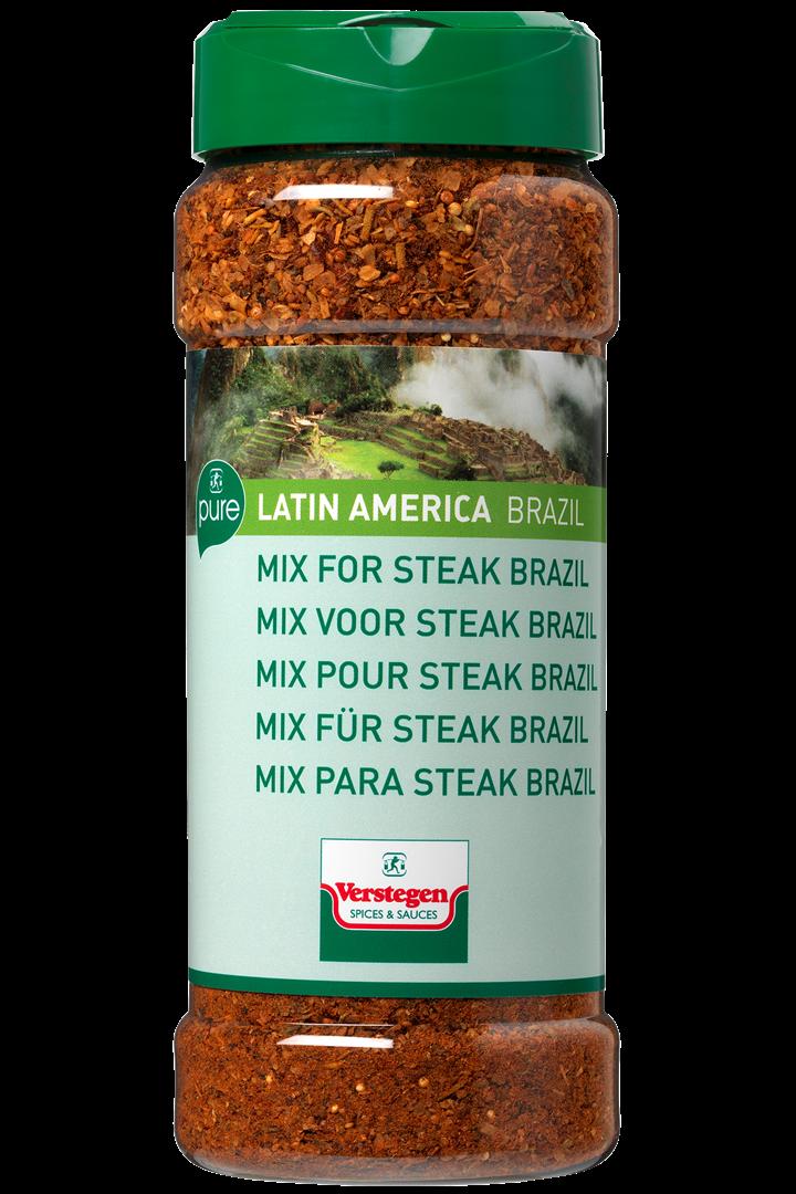 Productafbeelding Verstegen mix voor steak brazil 350 g pot