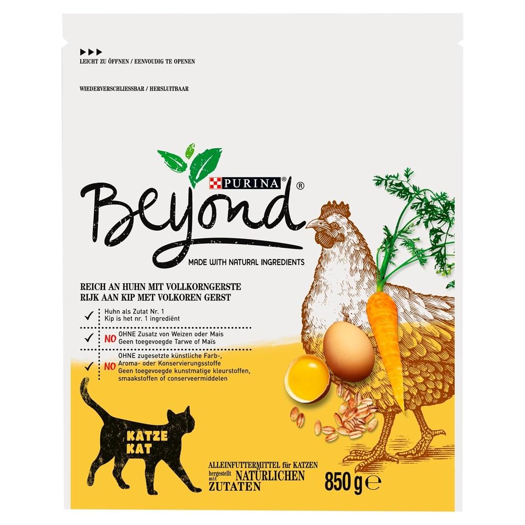 Productafbeelding PURINA BEYOND Droog Kat Droog kattenvoer Kip 850g Stazak