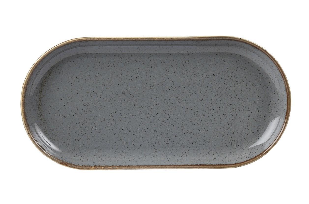 Productafbeelding Smal ovaal bord Storm 30 cm