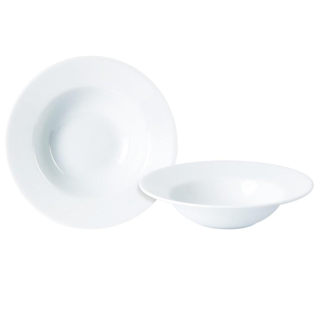 Productafbeelding Standard pasta & soepbord met brede rand 25 cm