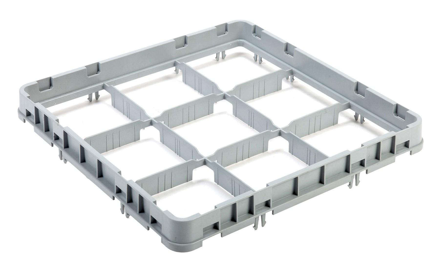Productafbeelding Vaatwaskorf verhoger 9 compartimenten max  Ø14.8cm