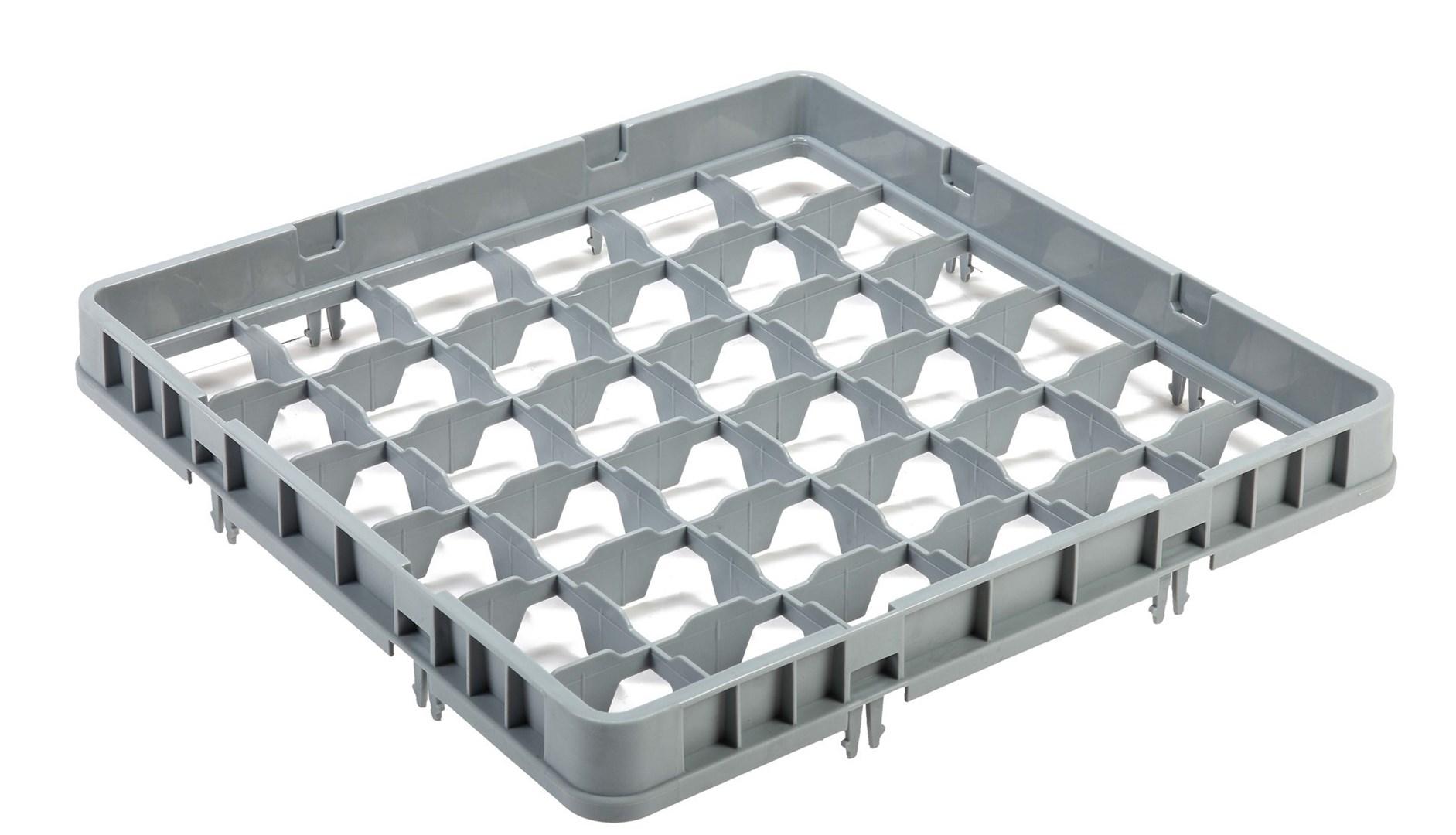 Productafbeelding Vaatwaskorf verhoger 36 compartimenten max Ø7.2 cm