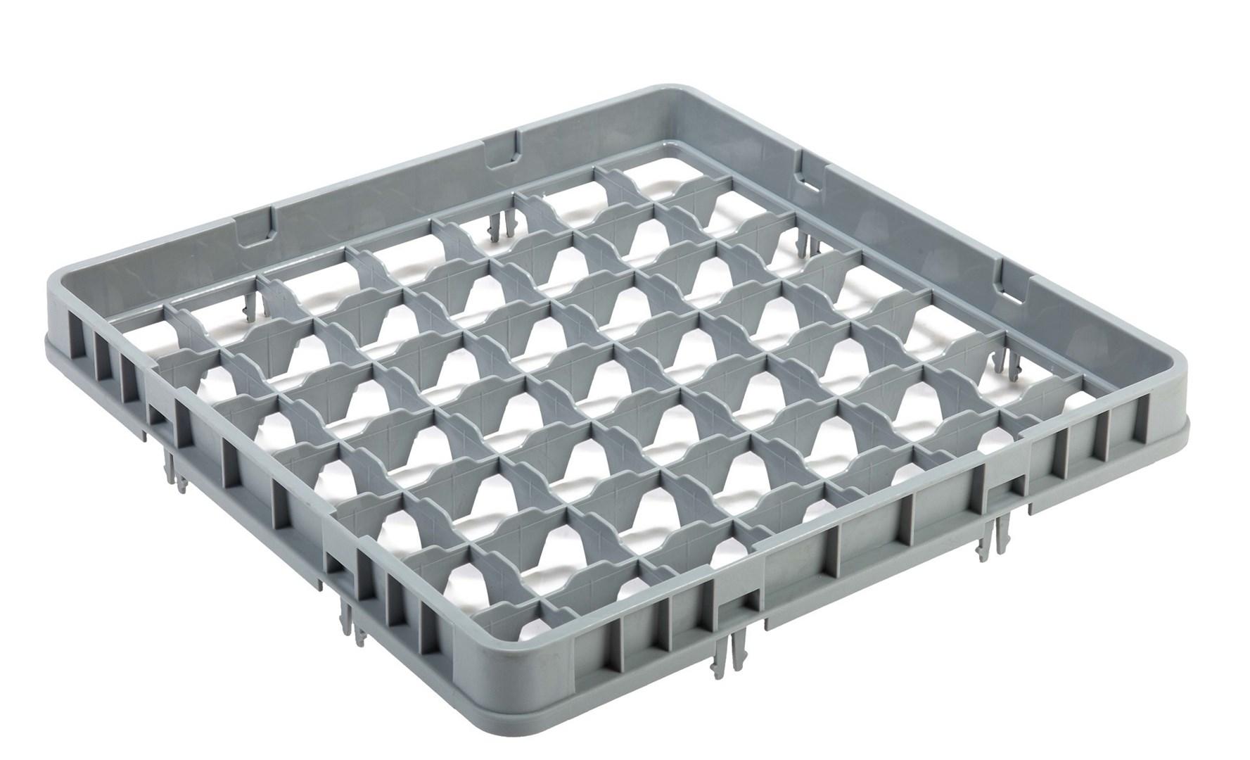 Productafbeelding Vaatwaskorf verhoger 49 compartimenten max Ø6 cm