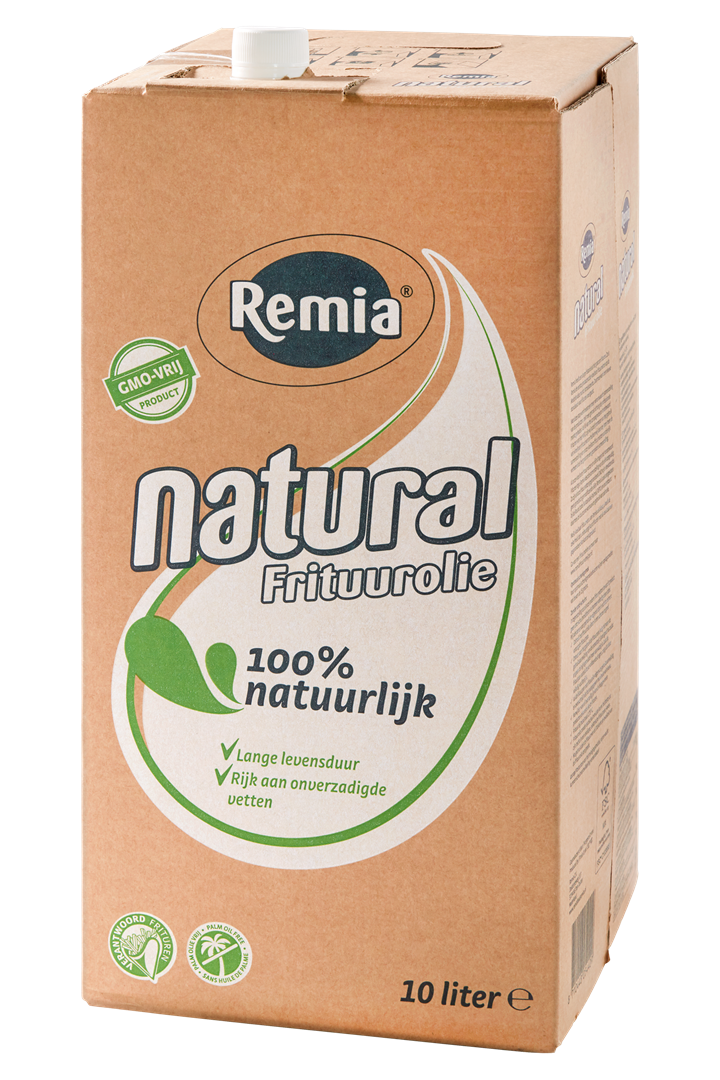 Productafbeelding Remia Natural Frituurolie | Bag-in-Box 1 x 10 L