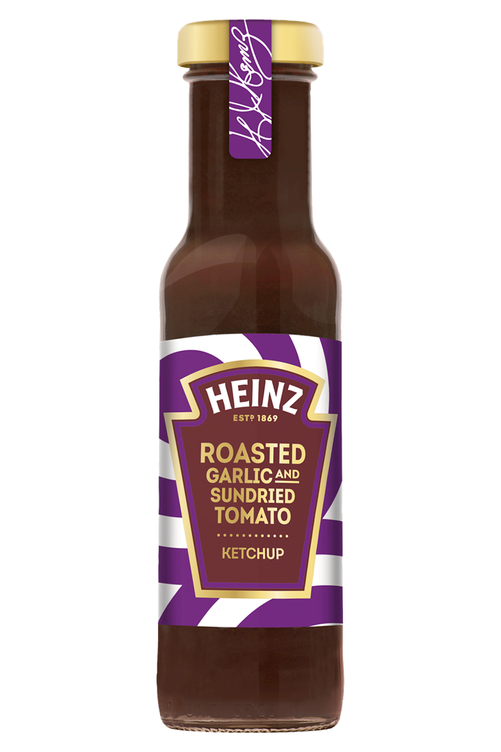 Productafbeelding Heinz Ketchup Roasted Garlic & Sundried Tomato 265 g Fles