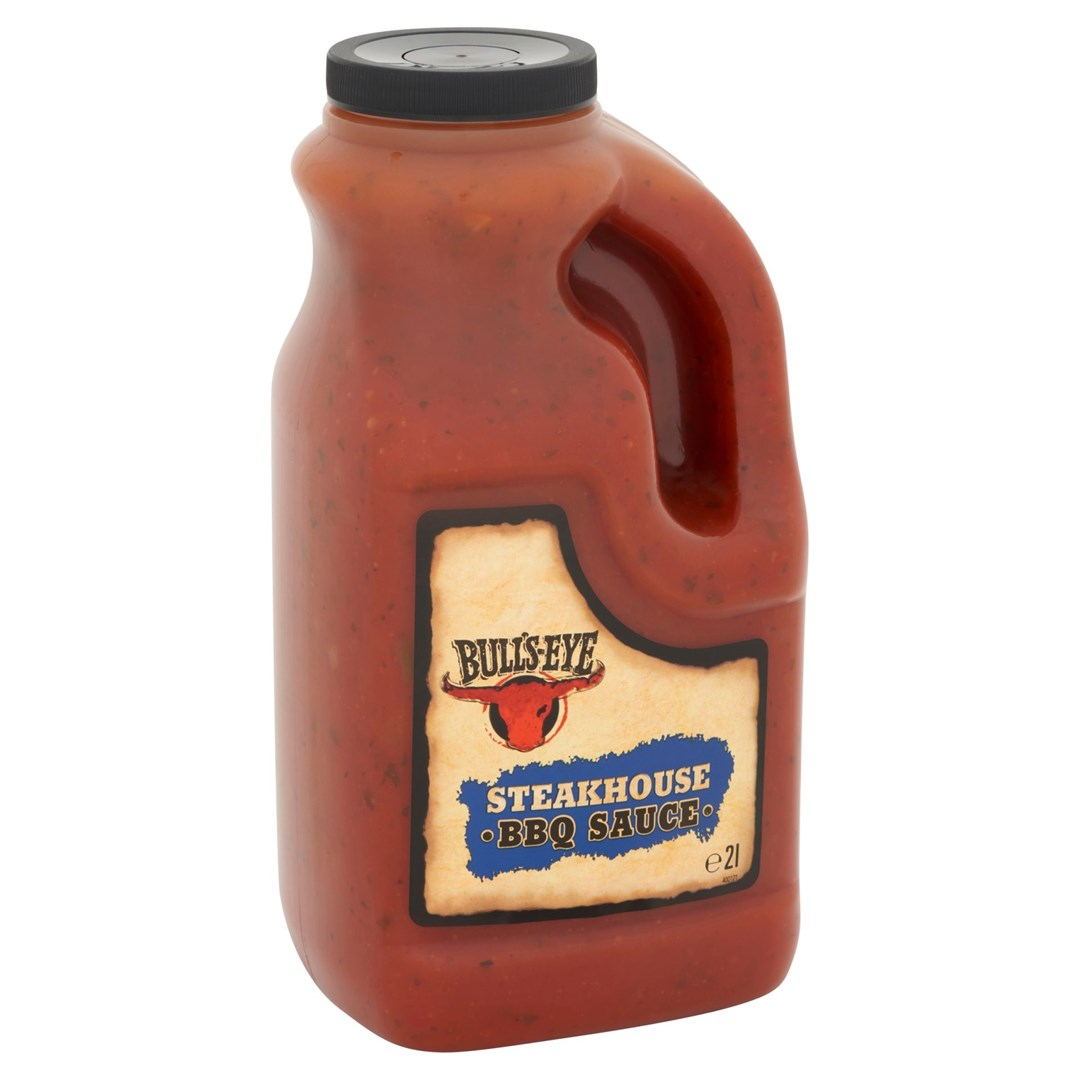 Productafbeelding Bull's-Eye Barbecuesaus Steakhouse 2 l Fles