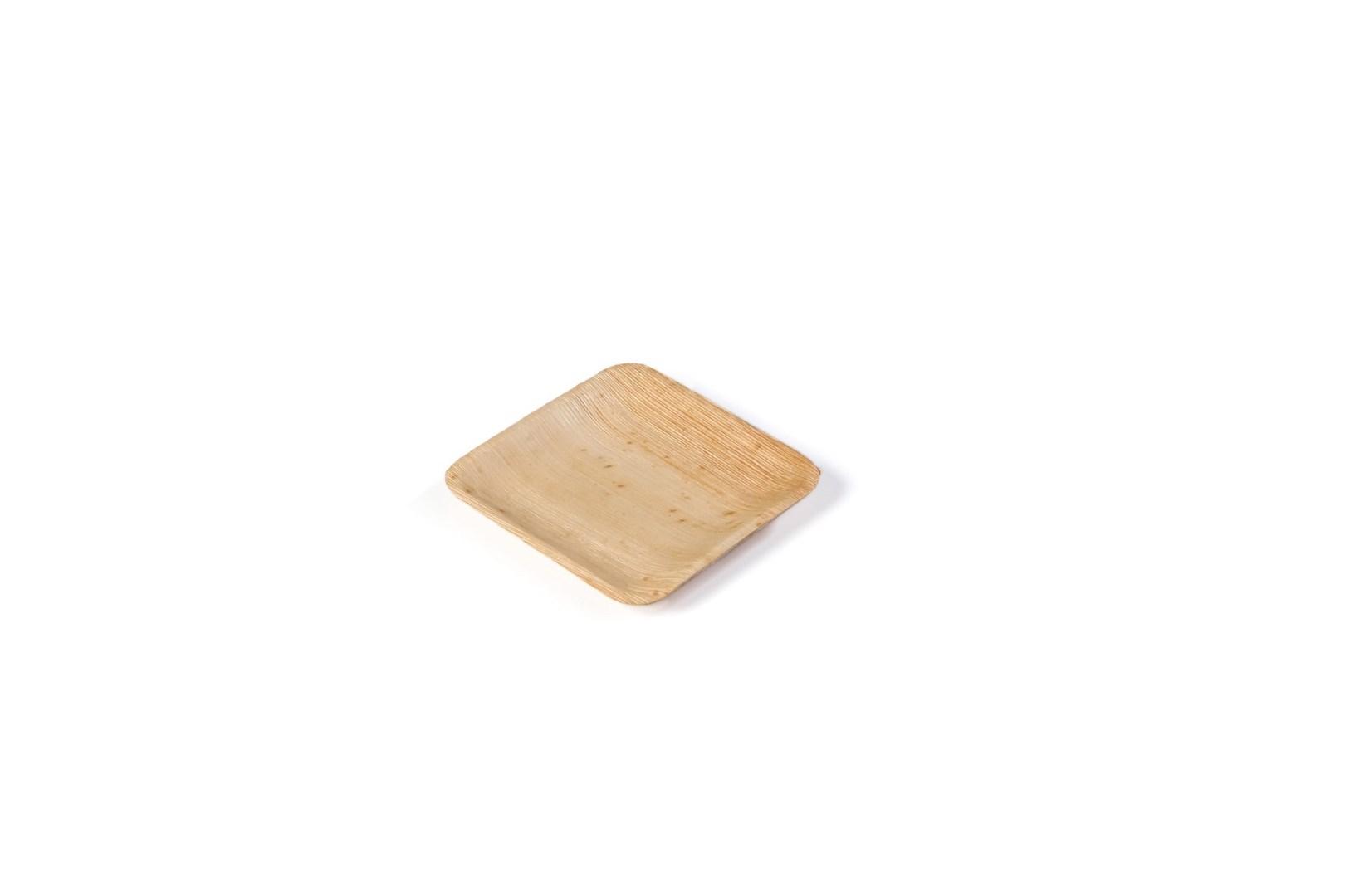 Productafbeelding Sier Disposables Palm bord vierkant 110 x 110 x h10 mm krimp à 20