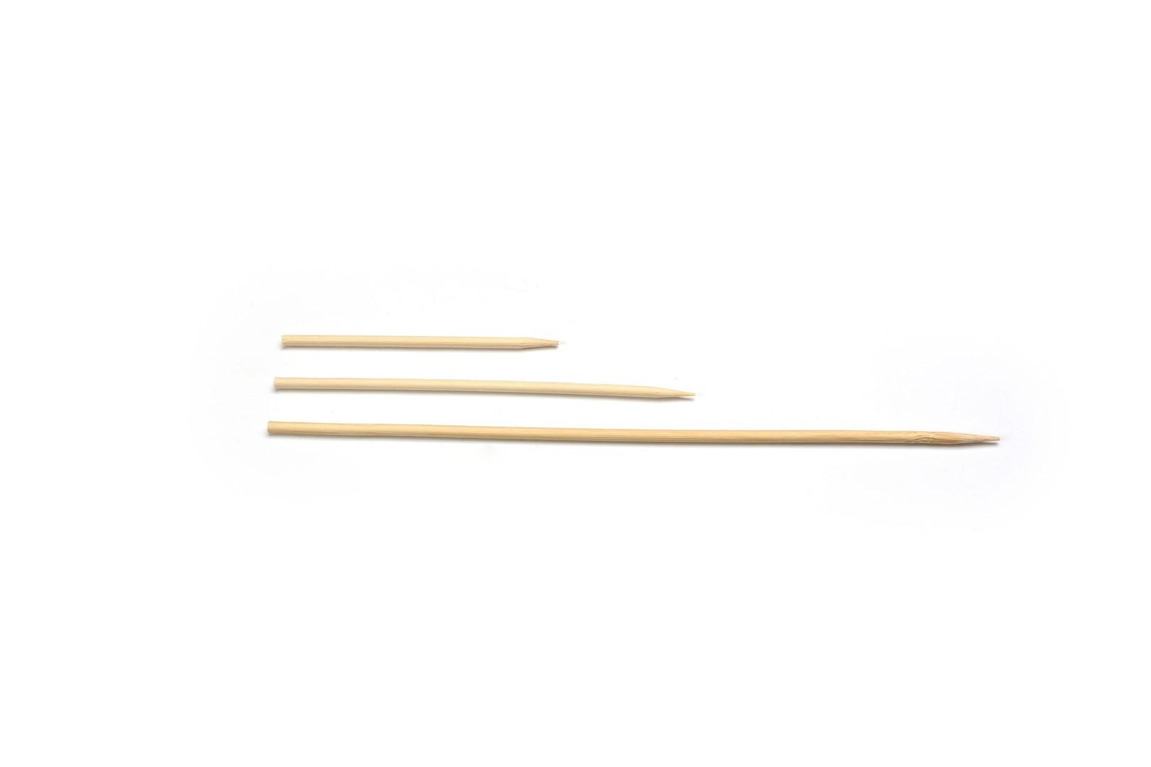 Productafbeelding Sier Disposables Prikker maïskolf bamboe ø 5 x 300 mm ds. à 100