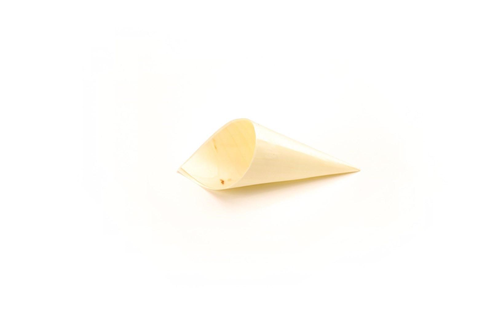 Productafbeelding Sier Disposables Puntzakje hout (FSC®) ø 45 x 90/130 mm ds. à 100