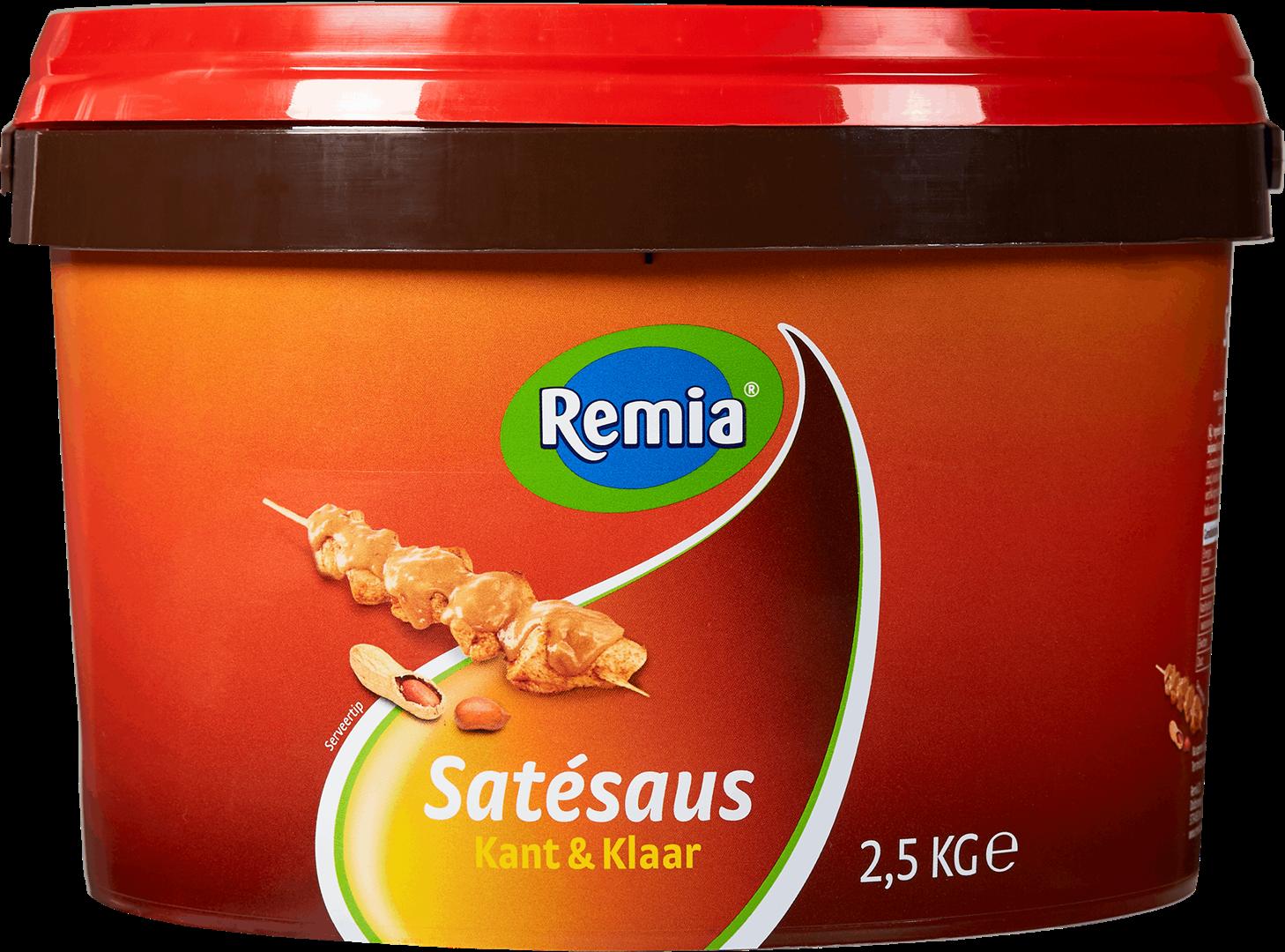 Productafbeelding Remia Kant & Klaar Satésaus   emmer 2,5 KG