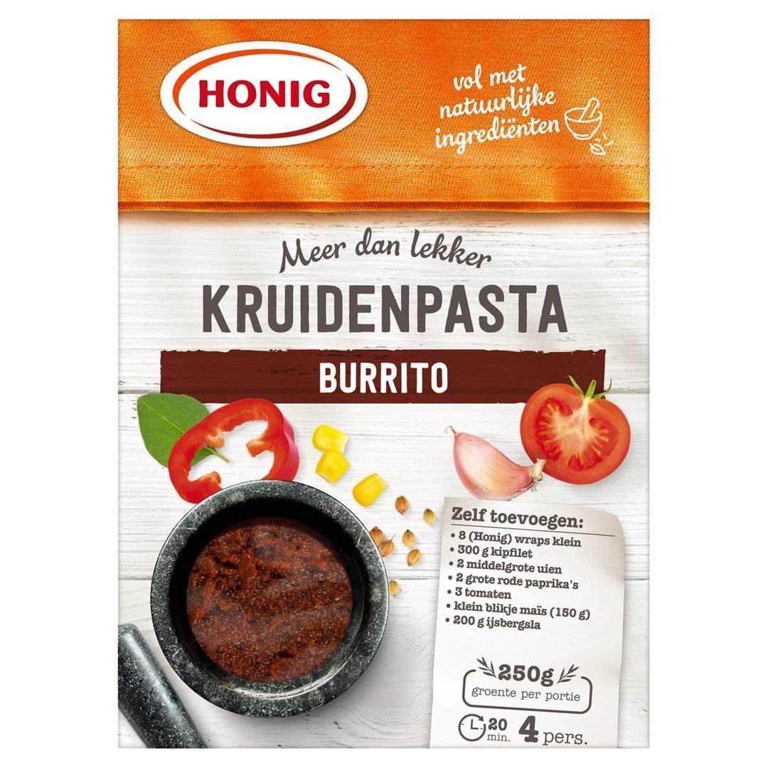 Productafbeelding Honig Kruidenpasta Burrito 80 g Doos