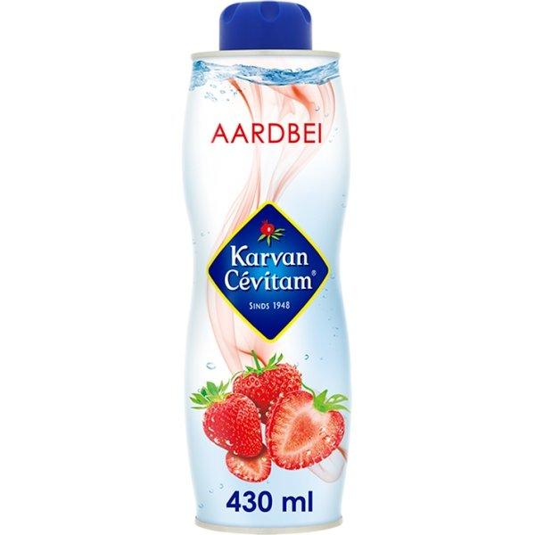 Productafbeelding Karvan Cévitam Vruchtenlimonadesiroop Aardbei 430 ml Blik