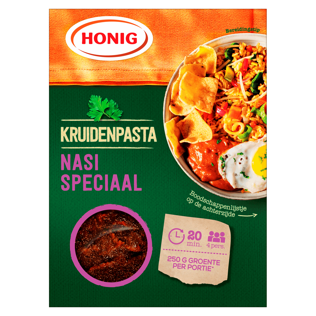 Productafbeelding Honig Kruidenpasta Nasi Speciaal 80 g Doos