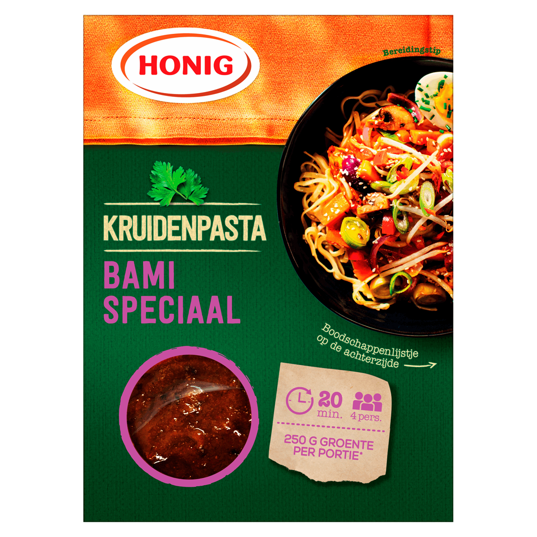 Productafbeelding Honig Kruidenpasta Bami Speciaal 80 g Doos