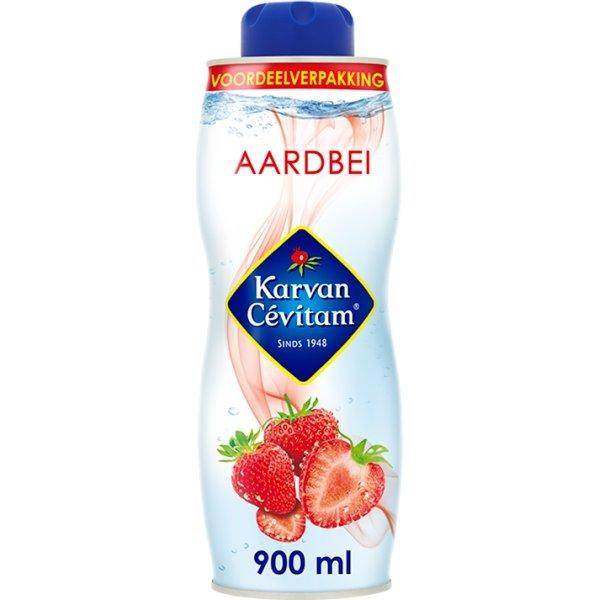 Productafbeelding Karvan Cévitam Vruchtenlimonadesiroop Aardbei 900 ml Blik