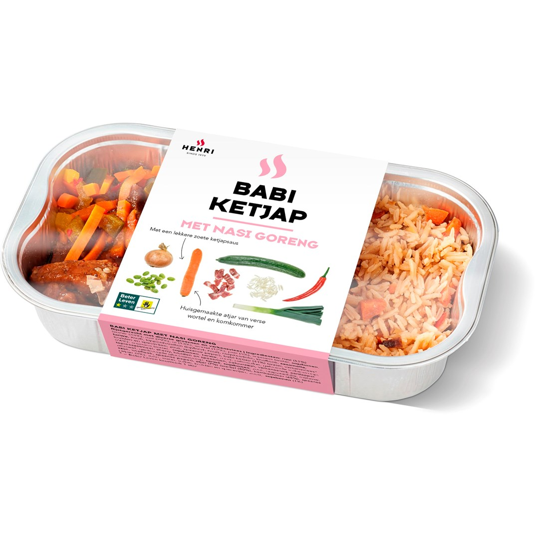Productafbeelding Babi ketjap met Nasi goreng BLK