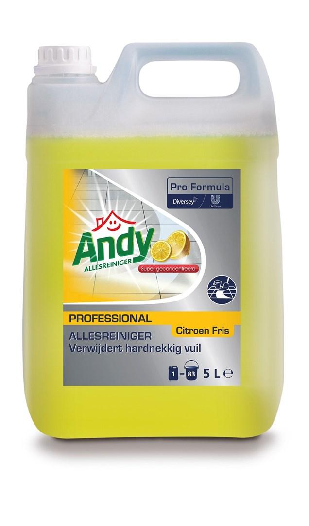 Productafbeelding Andy Pro Formula Allesreiniger Citroen Fris 5 L