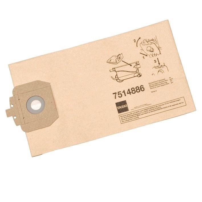 Productafbeelding Dubbelfilter stofzak papier  (vento 8s, vacumat 12)
