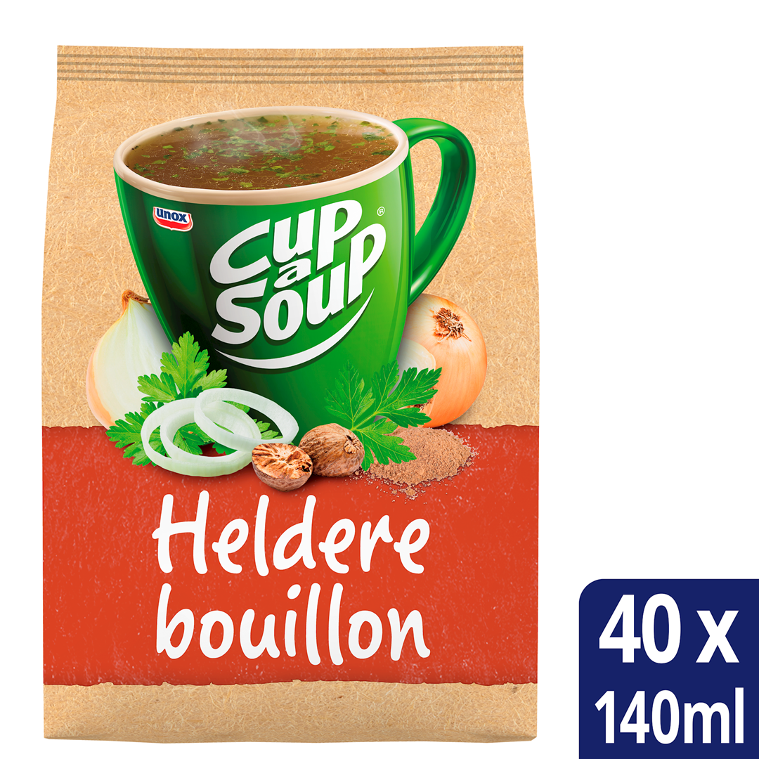 Productafbeelding Unox Cup-a-Soup Heldere Bouillon 40x140ml