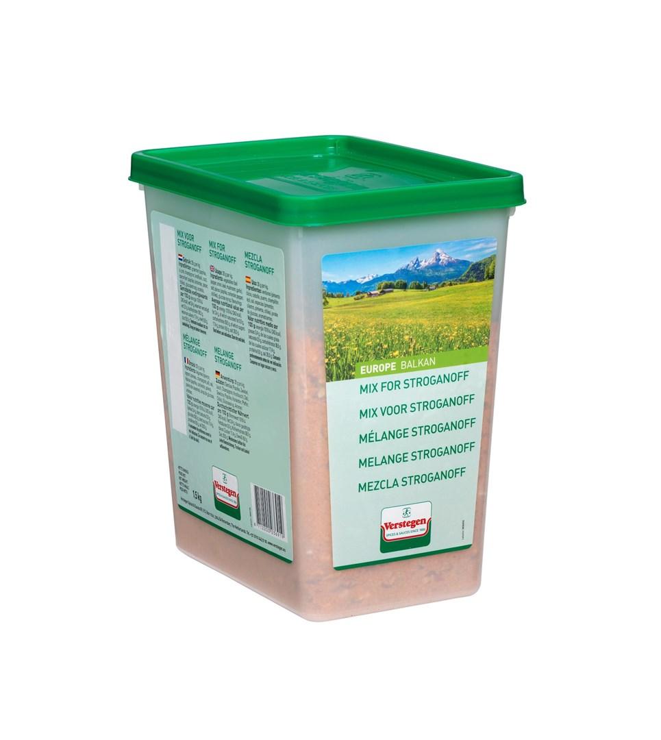 Productafbeelding Verstegen  mix voor stroganoff 1500 g kuipje