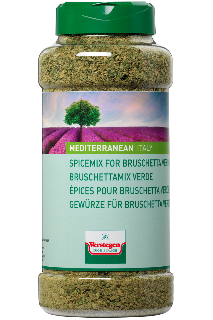 Productafbeelding Verstegen  Bruschettamix verde 210 g pot