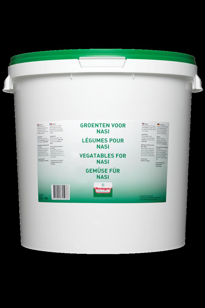 Productafbeelding Verstegen  groenten voor nasi  4000 g emmer