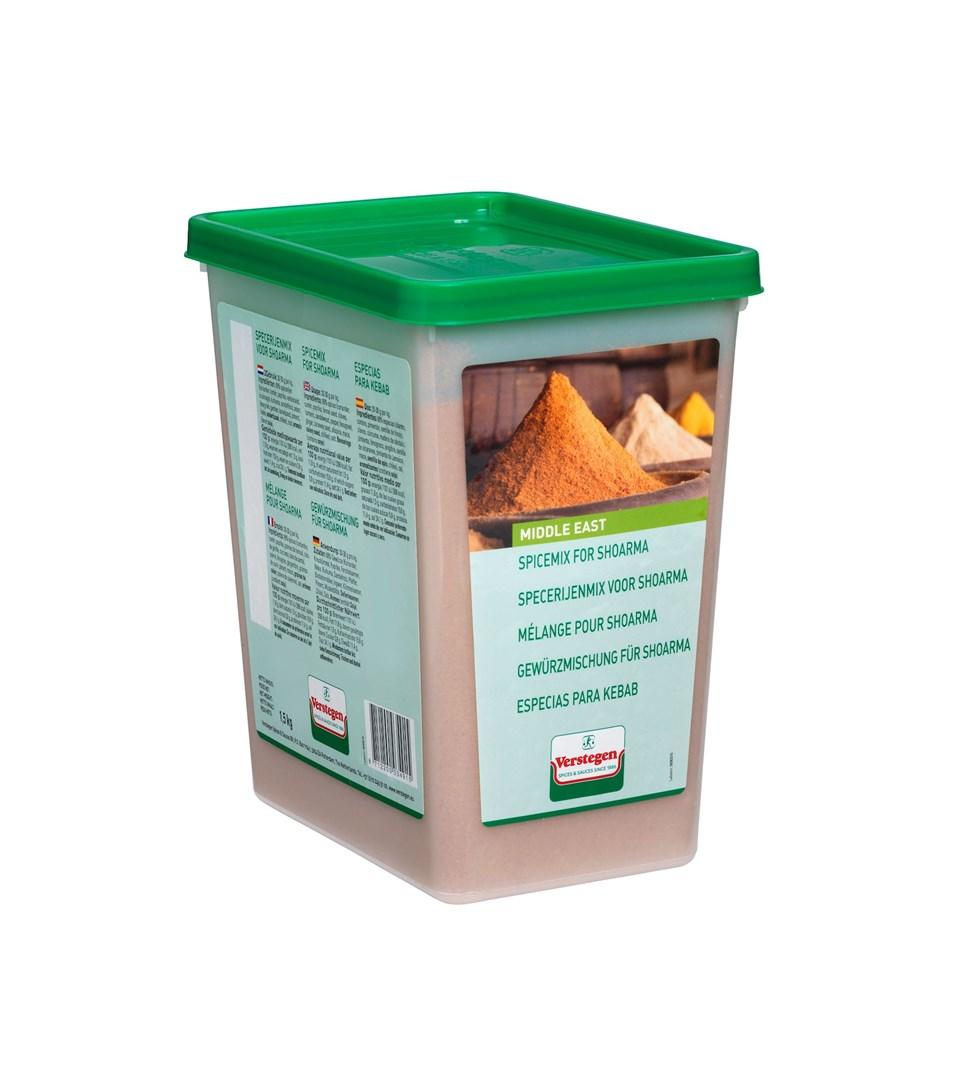 Productafbeelding Verstegen  specerijenmix voor shoarma 1500 g kuipje