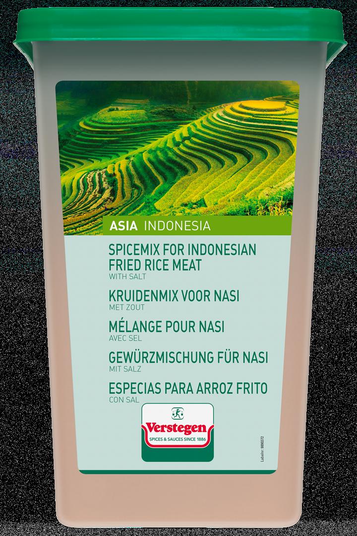 Productafbeelding Verstegen  kruidenmix voor nasi met zout 2000 g kuipje