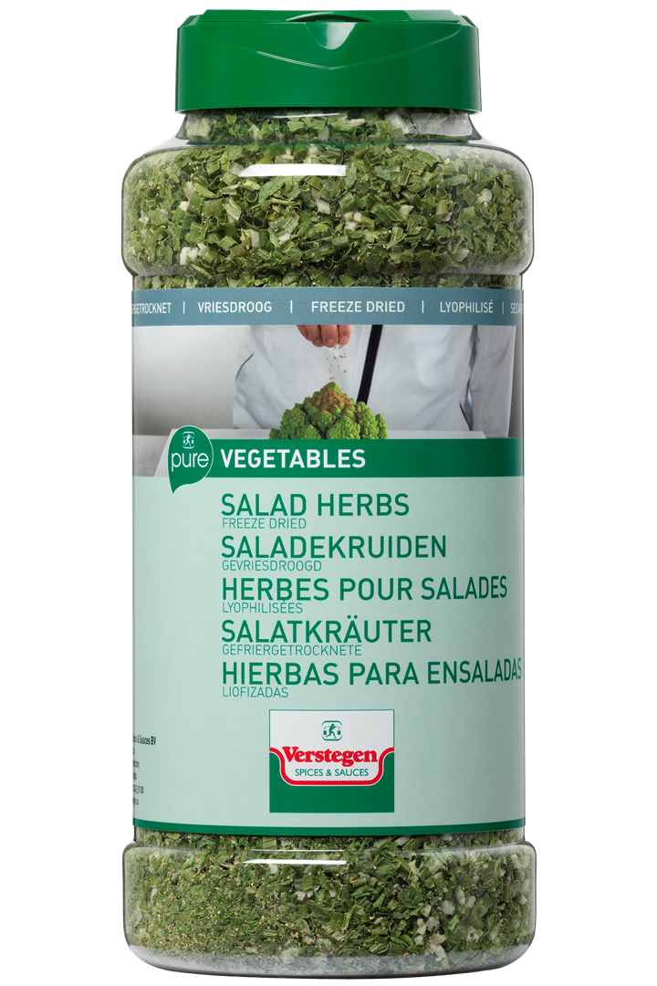 Productafbeelding Verstegen Pure saladekruiden gevriesdroogd 55 g pot