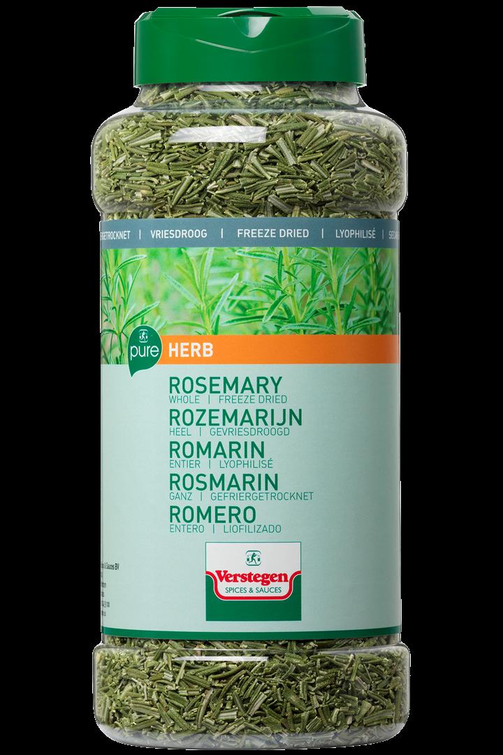 Productafbeelding Verstegen Pure rozemarijn heel gevriesdroogd 125 g pot