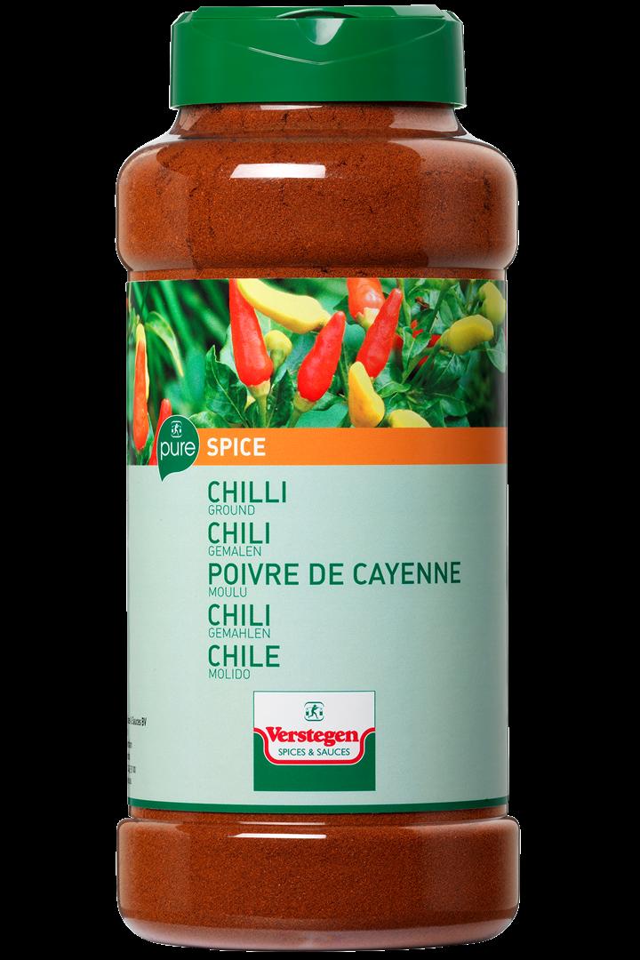 Productafbeelding Verstegen Chili gemalen 450 g pot