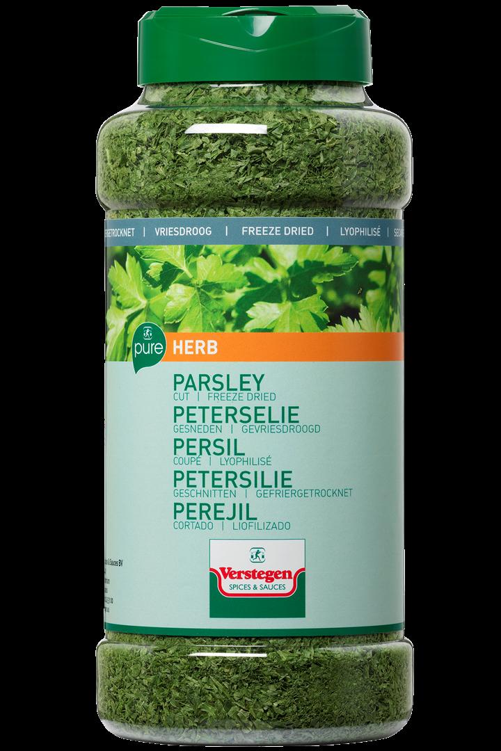 Productafbeelding Verstegen Peterselie gesneden gevriesdroogd pure 45 g pot