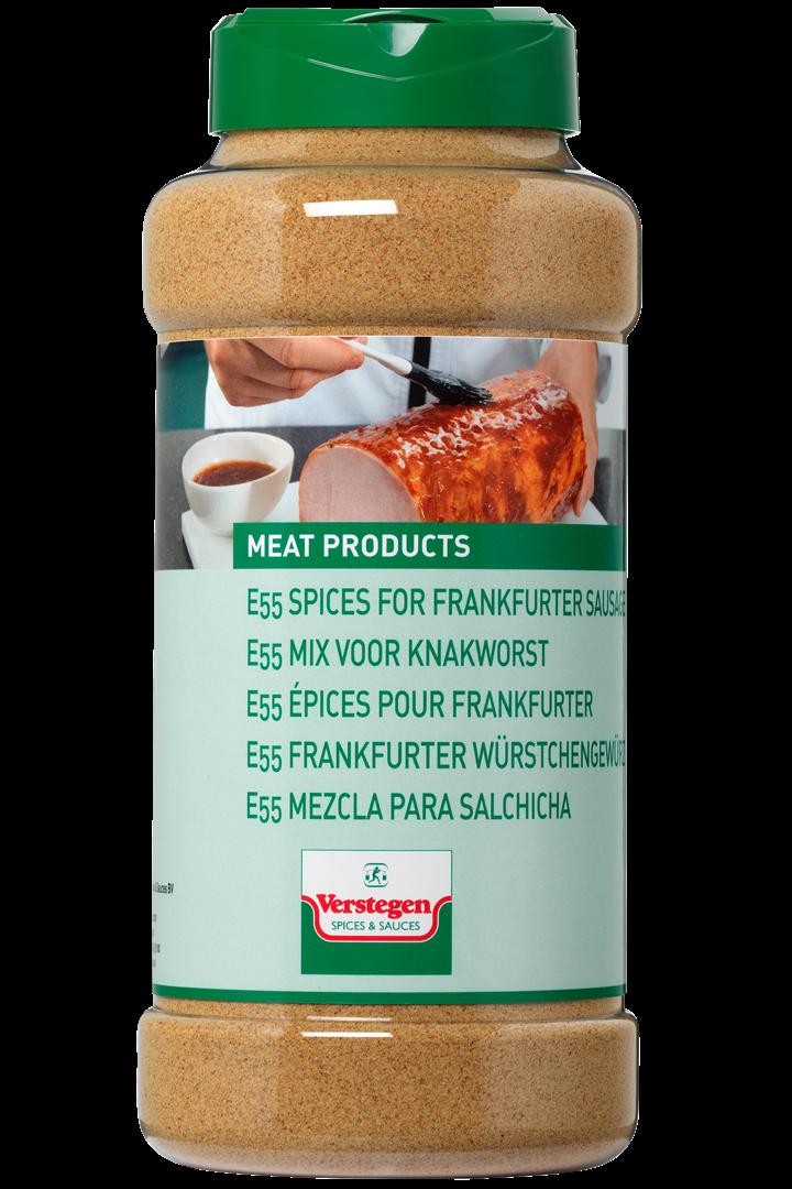 Productafbeelding Verstegen  E55 mix voor knakworst 480 g pot