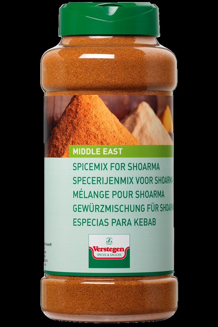 Productafbeelding Verstegen  kruidenmix voor  shoarma 525 g pot