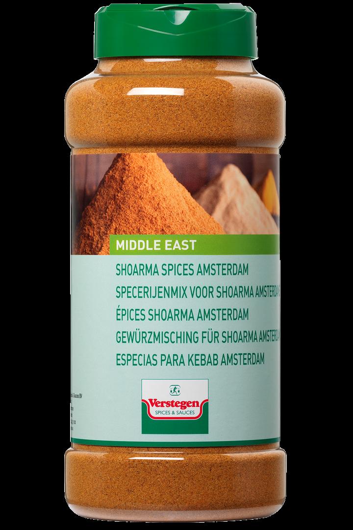 Productafbeelding Verstegen  specerijenmix voor Shoarma Amsterdams 650 g pot