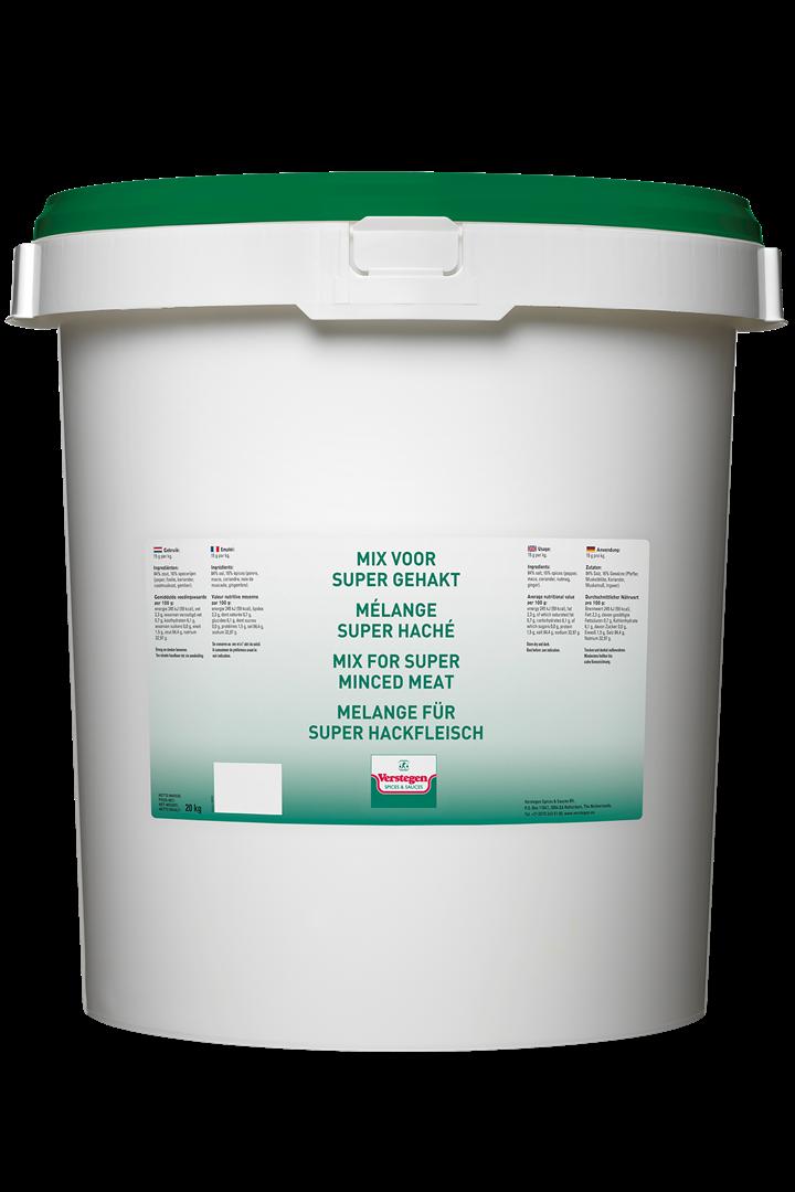 Productafbeelding Verstegen  mix voor gehakt super met zout 20000 g emmer