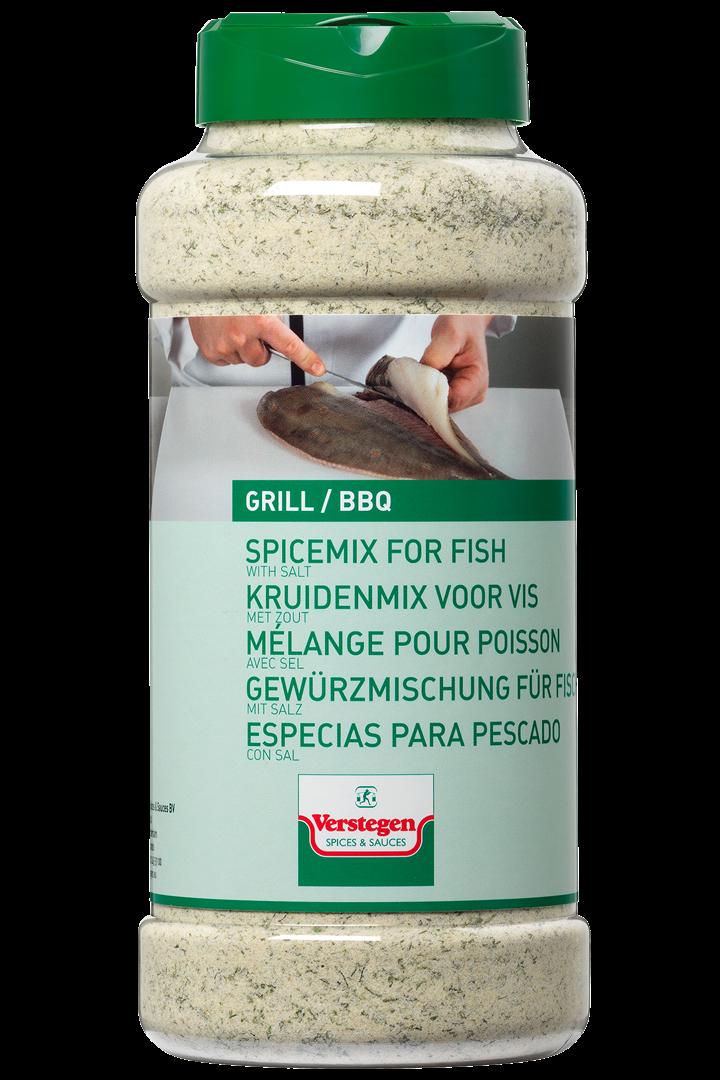 Productafbeelding Verstegen  kruidenmix voor  vis met zout 925 g pot