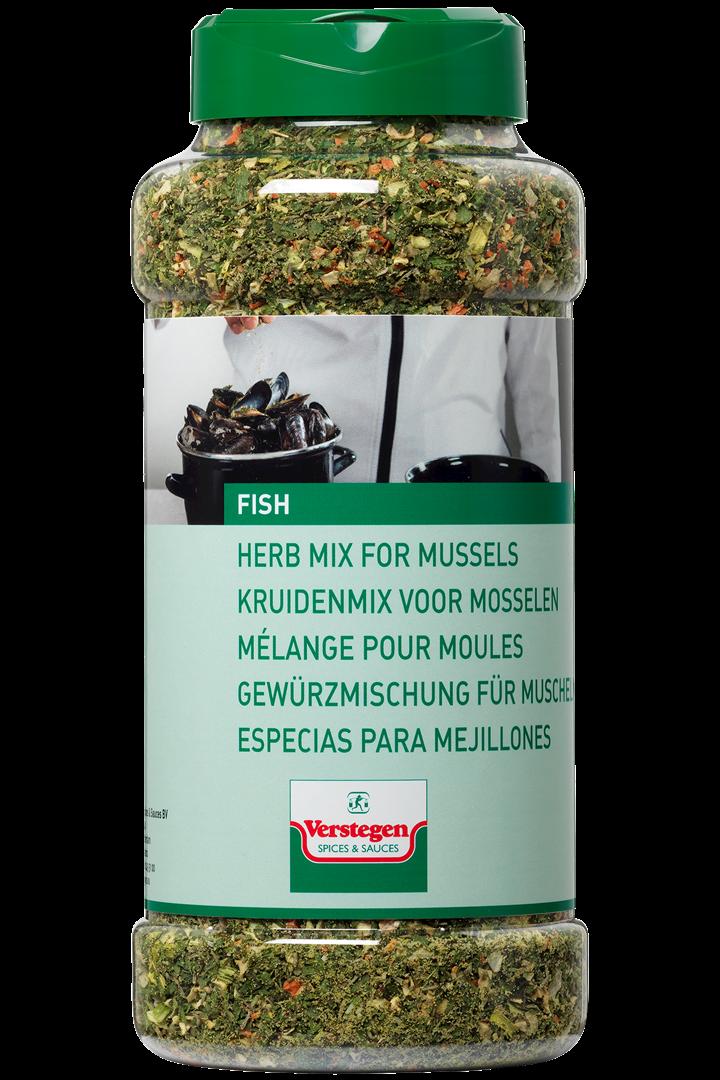 Productafbeelding Verstegen  kruidenmix voor Mosselen 260 g pot